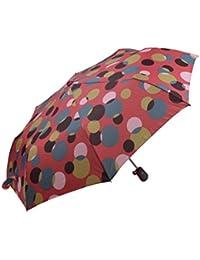 Señoras Coloridos Burbuja patrón Fuerte y Duradero automático Abierto Plegable Paraguas