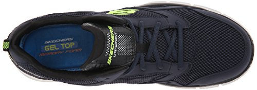Skechers - Equalizer Game Point, Sneakers da uomo Blu (Blu (Marine))