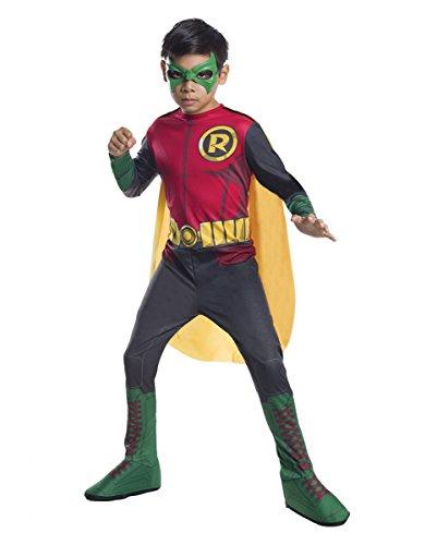 DC Comic Robin Batman Kinderkostüm L (Batman Robin Kostüm Baby)