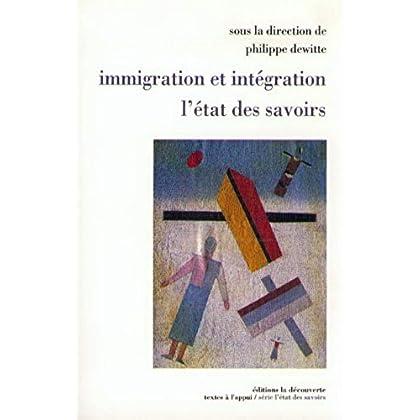 Immigration et intégration, l'état des savoirs