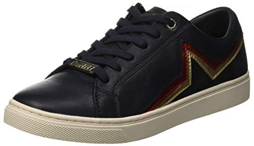 Tommy Hilfiger Star Essential Sneaker, Zapatillas para Mujer, Azul (Midnight 403), 36 EU