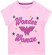 DC Comics Camiseta de Manga Corta para niñas Wonder Woman