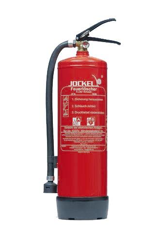Preisvergleich Produktbild Jockel Feuerloescher S6LJ Standard-Dauerdruck-Feuerloescher, 6 l Schaum