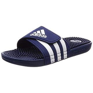 Adidas ADISSAGE, Unisex-Erwachsene Dusch- & Badeschuhe, Blau (Azul 000), 42 EU (8 UK)