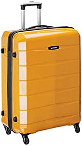 Safari Re-Gloss Polycarbonate 76 cms Mustard Yellow Hardsided Large Suitcase (Re-Gloss-77-Mustard Yellow-4WH)