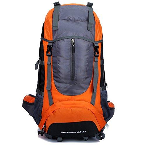 Klettern Draussen Wandern Schultern Wasserdicht Sport Reise Camping Rucksack Orange