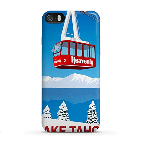 artboxONE Apple iPhone SE Premium-Case Handyhülle Lake Tahoe California von Steve Ash