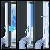 AEG PX71-265WT Eco mobiles Klimagerät (spiralförmiger Luftstrom, App-Steuerung, Fernbedienung, Inkl. Fenster-Kit, Kühlfunktion, Heizfunktion, Ventilator, Entfeuchtungsfunktion, Automatik) weiß/silber - 8