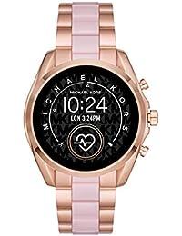 Michael Kors Gen 5 Access Women's Bradshaw 2 Touchscreen Women's Stainless Steel Smartwatch, Rose Gold and Blush-MKT5090