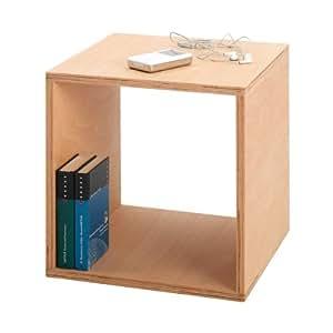 Tojo cube nachttisch 35x35 cm buche ge lt 35x35 cm - Ambientedirect bewertung ...