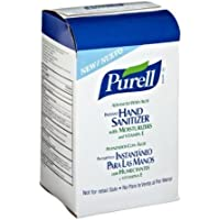 PURELL 2137-08 Advanced Instant Hand Sanitizer with Aloe, 1,000 mL NXT Space Saver Refill (Case of 8) by
