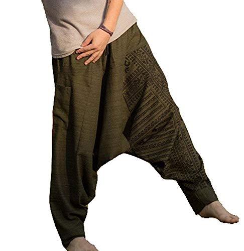 m Drawcord Baggy Pants, Lose Hip Hop Harem Hose ()