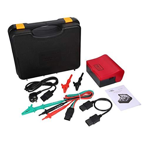 Smart Sensor AR5406 Digitale RCD ELCB Resistance Tester FI-Schalter Tester Kriechstrom Test 10/20/30/200/300/500 mA (rot) -