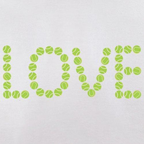 Tennis Love - Herren T-Shirt - 13 Farben Weiß