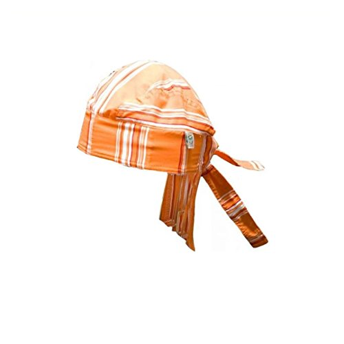 Baby Banz Bandana - Orange Stripe