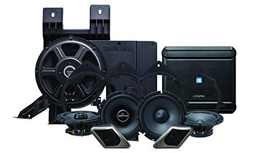 Alpine Electronics pss-21gm Alpine Restyle 2-Wege-Sound System für 2007–2013Chevy Silverado oder GMC Sierra Trucks ohne die Bose Factory - Teile Motor Chevy