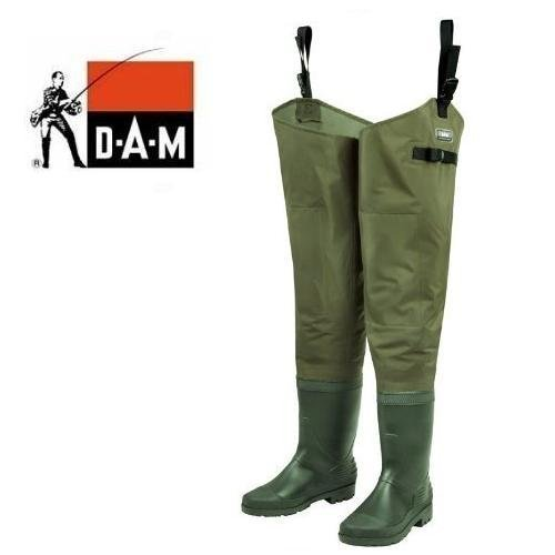 DAM HYDROFORCE Nylon Taslan Watstiefel Gr. 42/43 by DAM