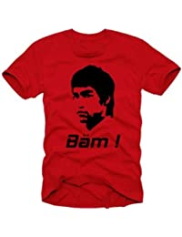 BÄM in your face BRUCE LEE t-shirt fightclub red