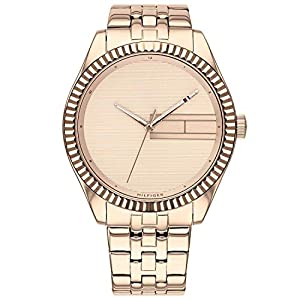 Tommy Hilfiger Reloj Analógico para Mujer de Cuarzo con Correa en Acero Inoxidable 1782082