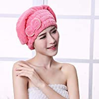 Fazzoletto asciugacapelli asciugacapelli asciugacapelli cuffia assorbente  asciugamano per capelli asciugamano... di Bainuojia 5b3bee8309d6