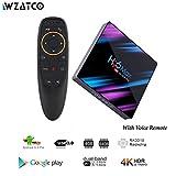 WZATCO H96 MAX Android 9.0 TV Box 4G 64GB Rockchip RK3318 4 Core