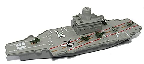 18 long Aircraft Carrier with Sound/Lights and 8 Mini Aircrafts by Manley