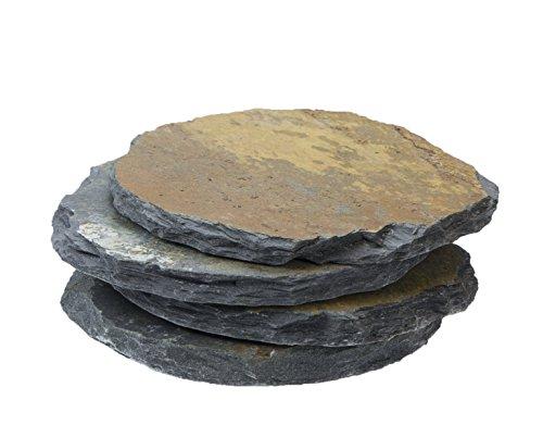 CLIMAQUA Dekoartikel, Schieferplatte Zen, rusty -