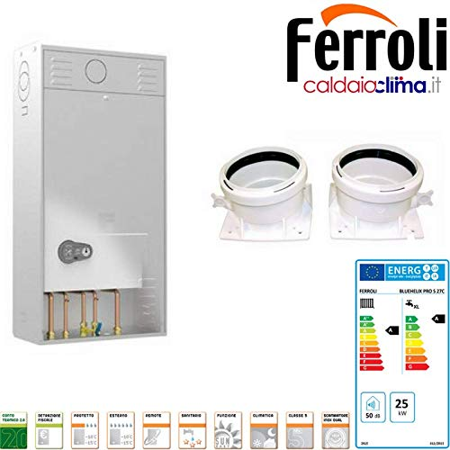 Caldera Ferroli BlueHelix Pro Slim 27 C - Gas Natural