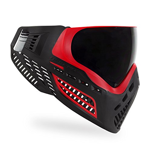 Virtue VIO Ascend Thermal Paintball Maske/Goggle - Rot/Schwarz