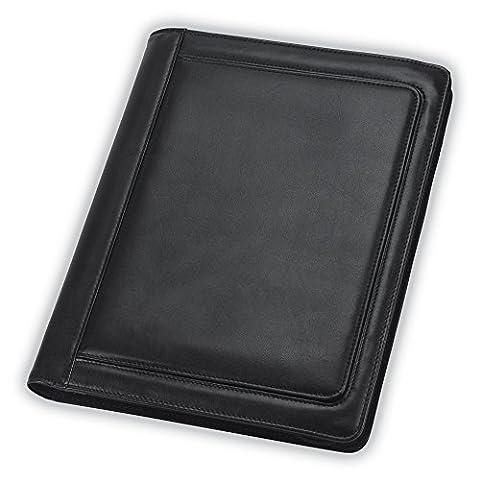 Samsill Professional Zipper Padfolio / Business Portfolio with Quick Access