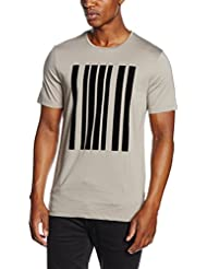 Antony Morato Stampa Barcode, T-Shirt Homme