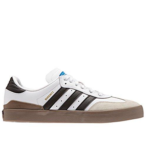 Adidas Skateboarding - Chaussures Skateshoes Homme Busenitz Vulc Samba Edition - Taille:one Size White/Core Black/Bluebird