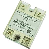 SODIAL(R) 250V 25A rele' a stato solido Controllo della temperatura
