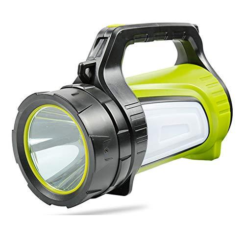 MRDEER 1200LM LED Handscheinwerfer Wiederaufladbare Suchscheinwerfer Akku Handlampe mit 4500mah Power bank, 32h Laufzeit 10W Wasserdicht Dimmbare Taschenlampe mit 7 Lichtmodi,USB-Lade