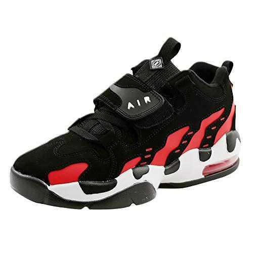 OSYARD Damen Sneaker Sportschuhe Laufschuhe,Atmungsaktiv Anti-Slip Schnürer Fitnessschuhe, Frauen Freizeitschuhe Outdoor Shoes Wandern Trekking Schuhe Air Cushion Gym Turnschuhe(240/39, Rot)