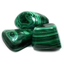 CrystalAge Pierre roulée Malachite (30 - 40 mm)