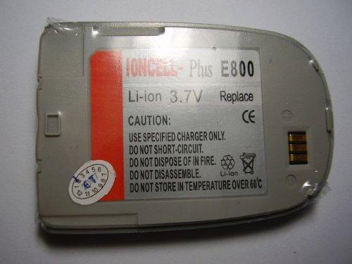 IonCell Plus Handy Akku ( Baugleich mit BST2927 für Samsung SGH-E800 SGH-E808 SGH-E820 E800 E808 E820 silver / silber)