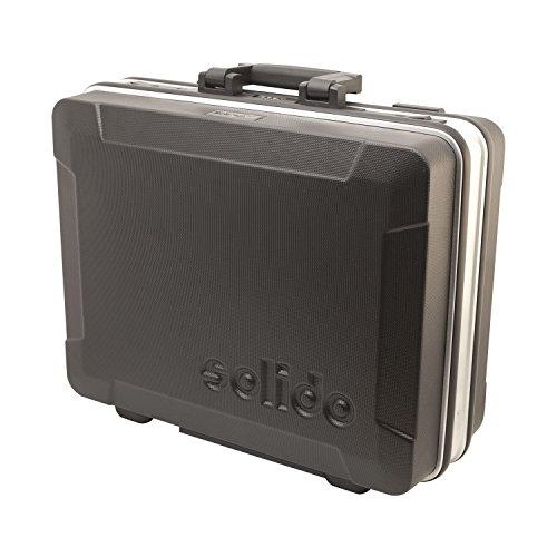 Solido Werkzeugkoffer leer 495x415x195 mm | Hochschlagzähes ABS-Material | Abschließbar inkl. 2 Schlüssel