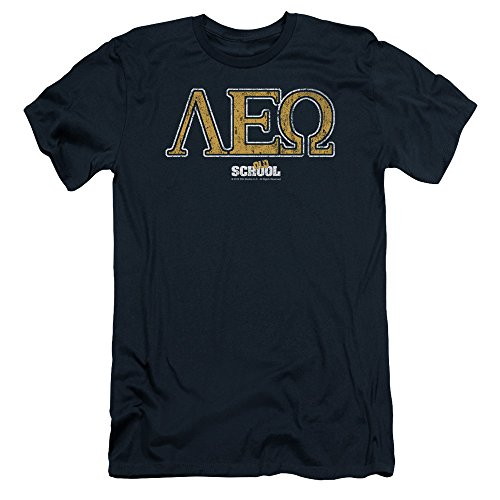 old-school-college-fraternity-comedy-movie-leo-adult-slim-t-shirt-tee