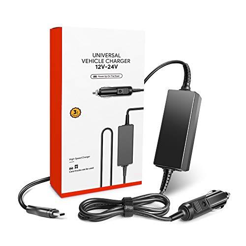 USB-C Ordenador Cargador Coche 45W 65W Adaptador MacBook