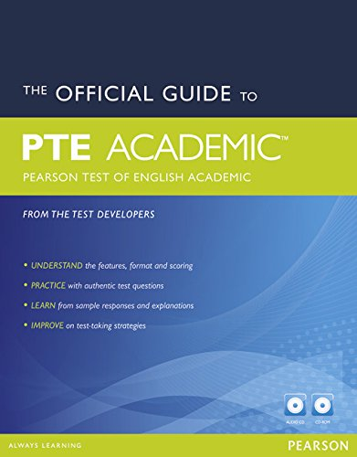 The Official Guide to the Pearson Test of English Academic New Edition Pack (Pearson Tests of English)