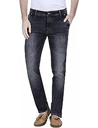 Raa Jeans Slim Fit Men's Corban Black Towel Wash Jeans