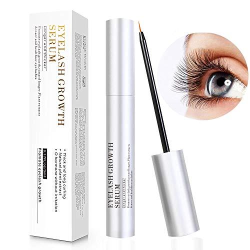 Wimpernserum & Augenbrauenserum Schrofner Eyelash Growth Serum - Für lange, dichte, schöne Wimpern – schnelles Wachstum Wimpernverlängerung - ohne Hormone, Öl, Pigment, 5ml