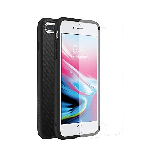 iPhone 8Plus/7Plus [solidsuit]/iPhone 8Plus/7Plus [solidsuit] Bundle, with Screen Protector, SP with Carbon Fiber