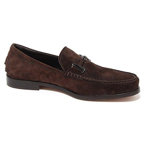 43491 mocassino TOD'S BOSTON scarpa uomo loafer shoes men Marrone