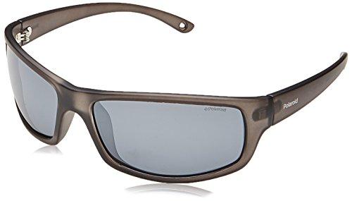 Polaroid Herren PLD 7017/S EX KB7 63 Sonnenbrille, Grau (Grey/Greyslv Fl Pz),