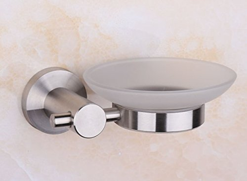 Draht-seifenkorb (Hagyh Badezimmer 304 Edelstahl Bad wc Soap Box/Seifenhalter hardware Draht hängen Verdickung 110 * 65 mm)