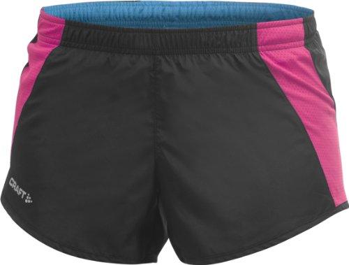 Craft Damen Shorts Performance Run Women'integrierter Einlage Metro/Multi Color