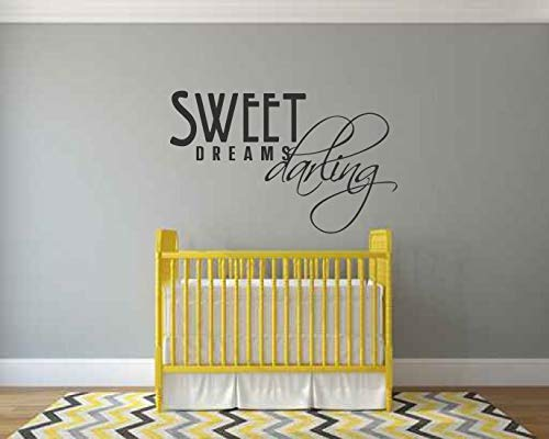 Eita Sweet Dreams Darling Vinyl Words Wall Decal -