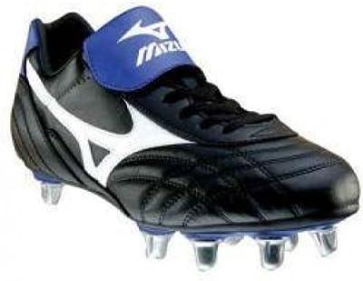 Mizuno - Zapatillas de rugby para hombre multicolor Azul Negro
